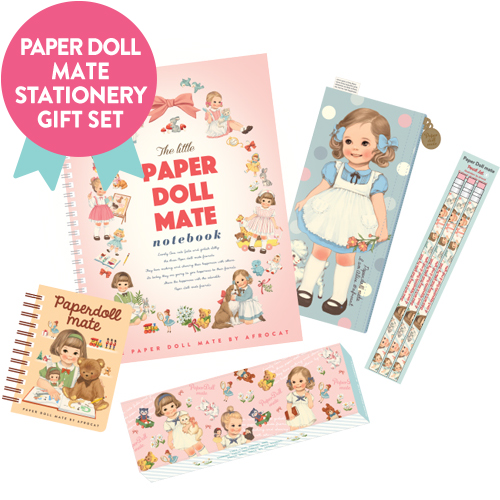 [특별기획] paperdoll mate stationery set