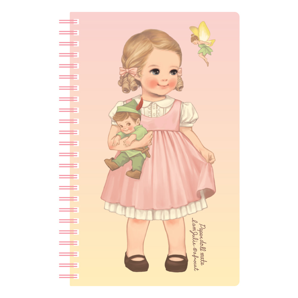 paper doll mate spring note ver.3_Julie