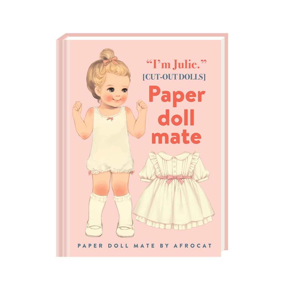 PAPER DOLL MATE HARD COVER MINI NOTE ver.5