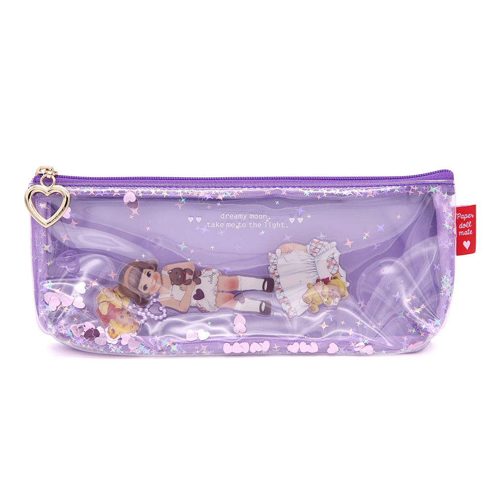 Paper doll mate  glitter pouch.P_Sally