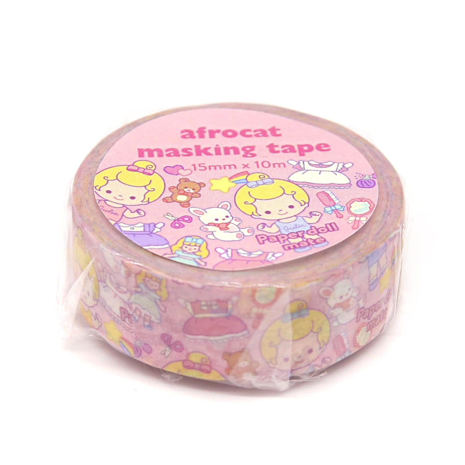 [afrocat masking tape] 17. Paper doll mate_minime  julie 15mm