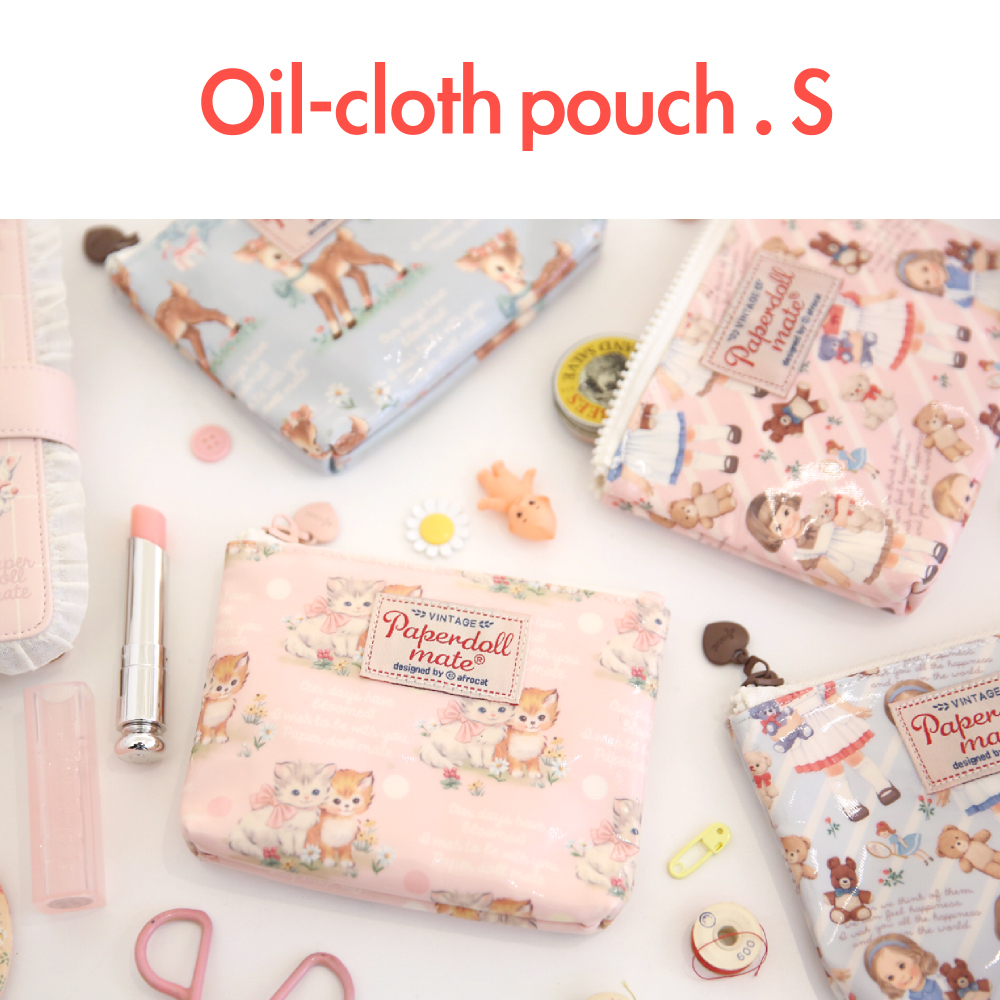 Oilcloth Pouch_S