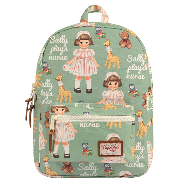 [Sold out] paper doll mateYouth backpack_Sally
